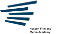 Logo of the Hessen Film and Media Academy
