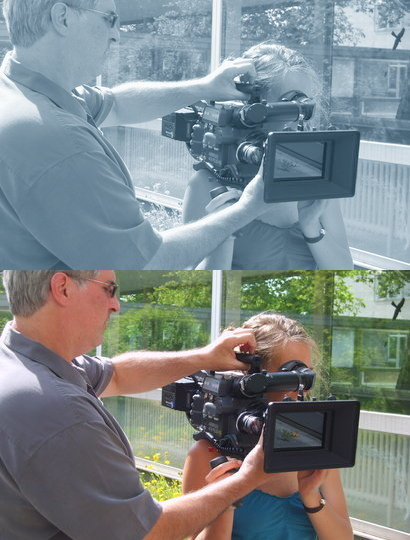 Analog-Filmen mit der Arri-Flex-416 und Camera-Instructor Randy Tack